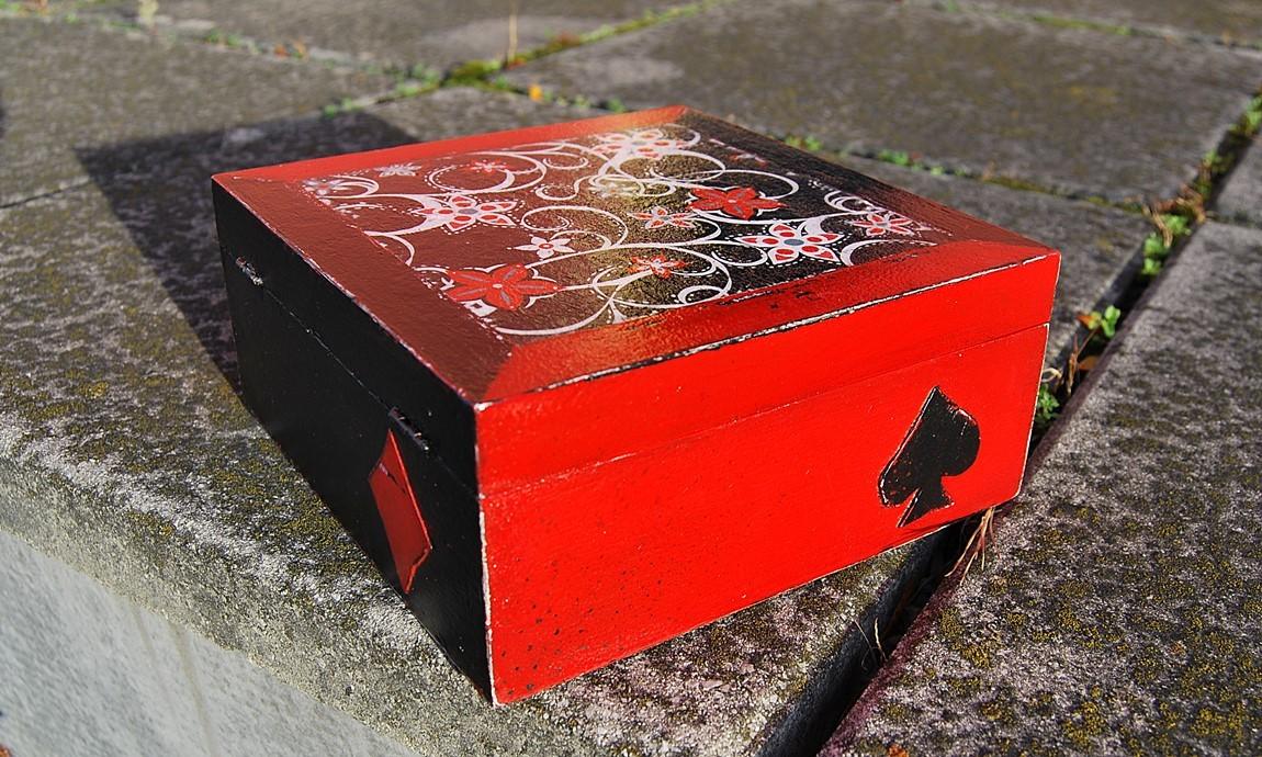 decoupage box schaby chic 1 anna sikora
