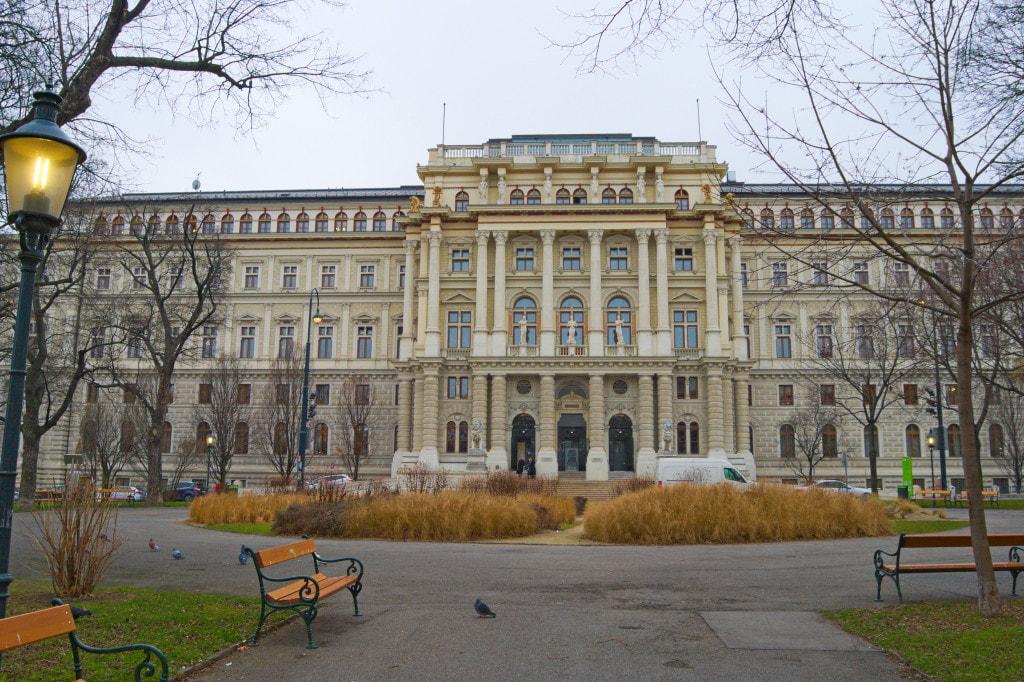 justiz palast pałac sprawiedliwości wiedeń fasada