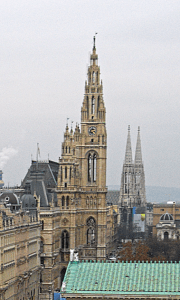 Wiedeń Ratusz Rathaus Wien 521x868