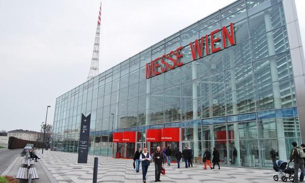 Fasada budynku Targi Wiedeński