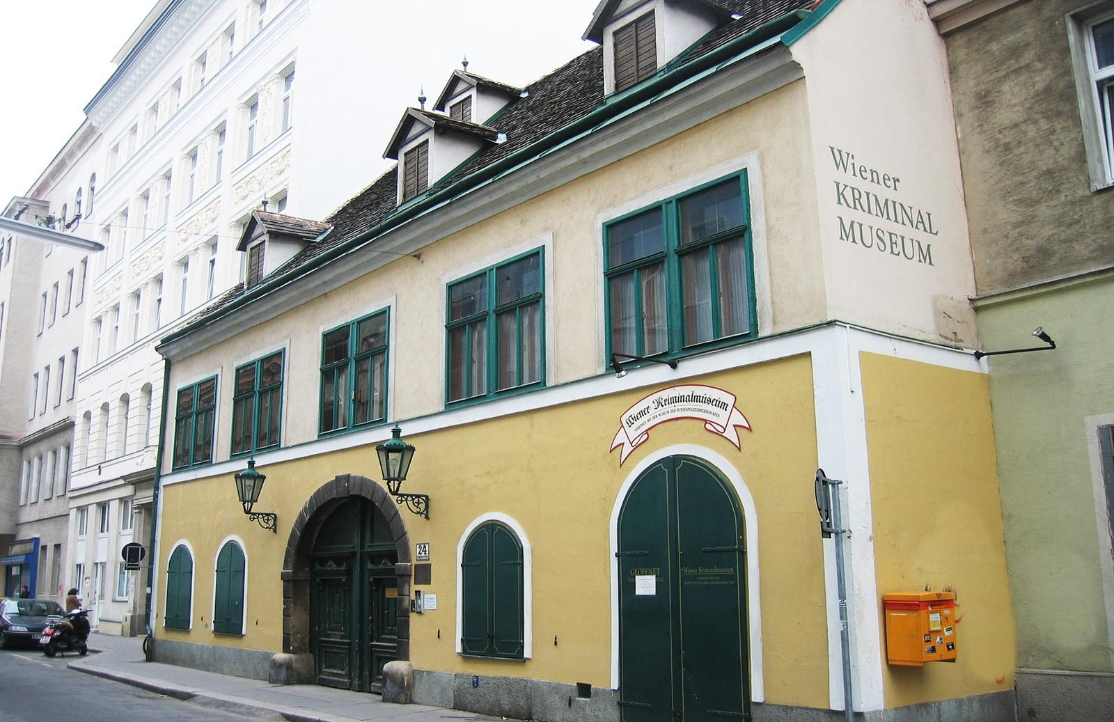 Muzeum kryminalne Das Wiener Kriminalmuseum