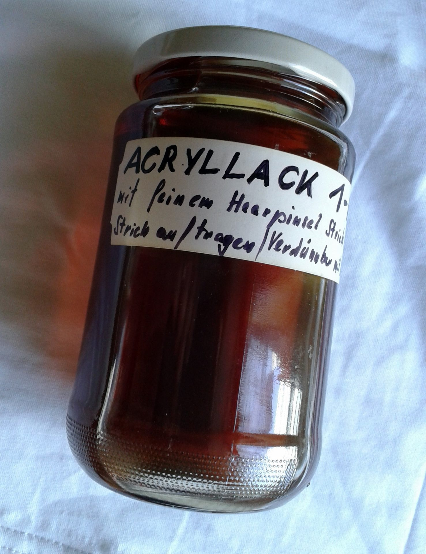 acryllack schellack