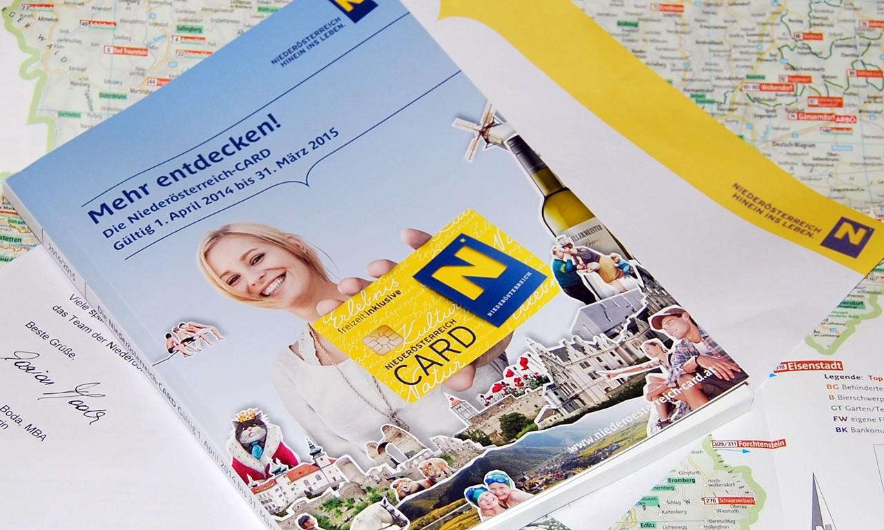Niederösterreich Card/Karta Dolnej Austrii