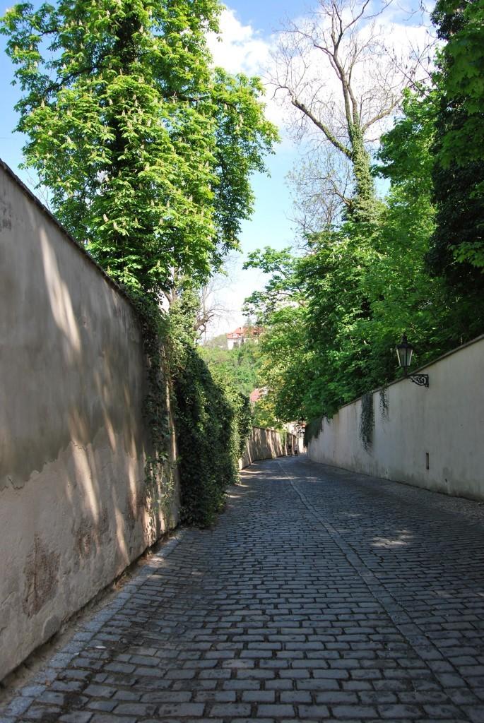 Brukowane drogi Pragi