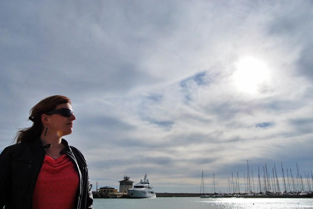 Lido di Ostia - port