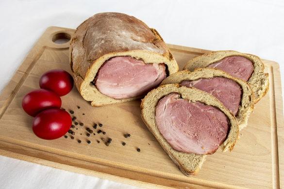osternschinken szynka w cieście chlebowym
