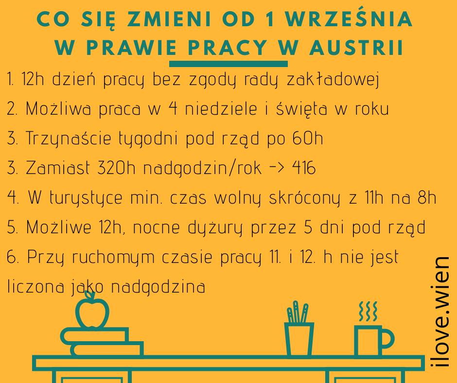 60-godzinny tydzień pracy w austrii