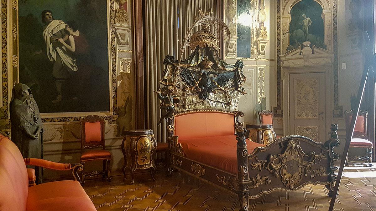 Hermes Villa łoże po Marii Teresie