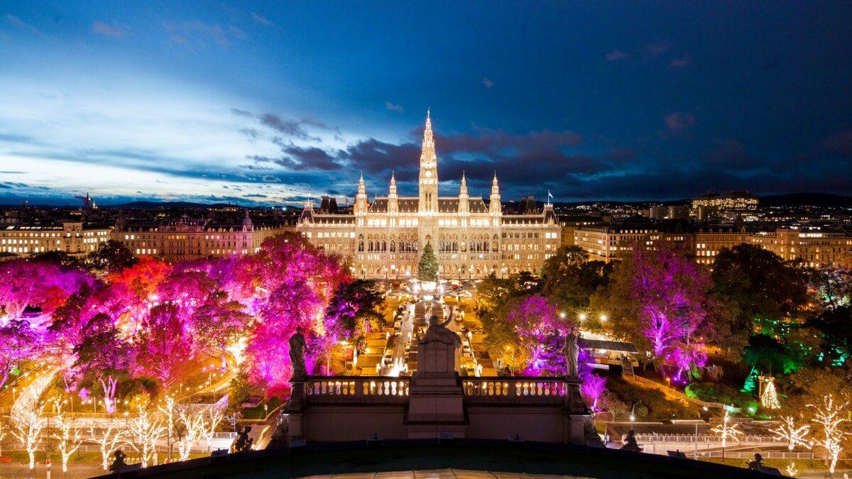 Jarmarki bożonarodzeniowe w Wiedniu
