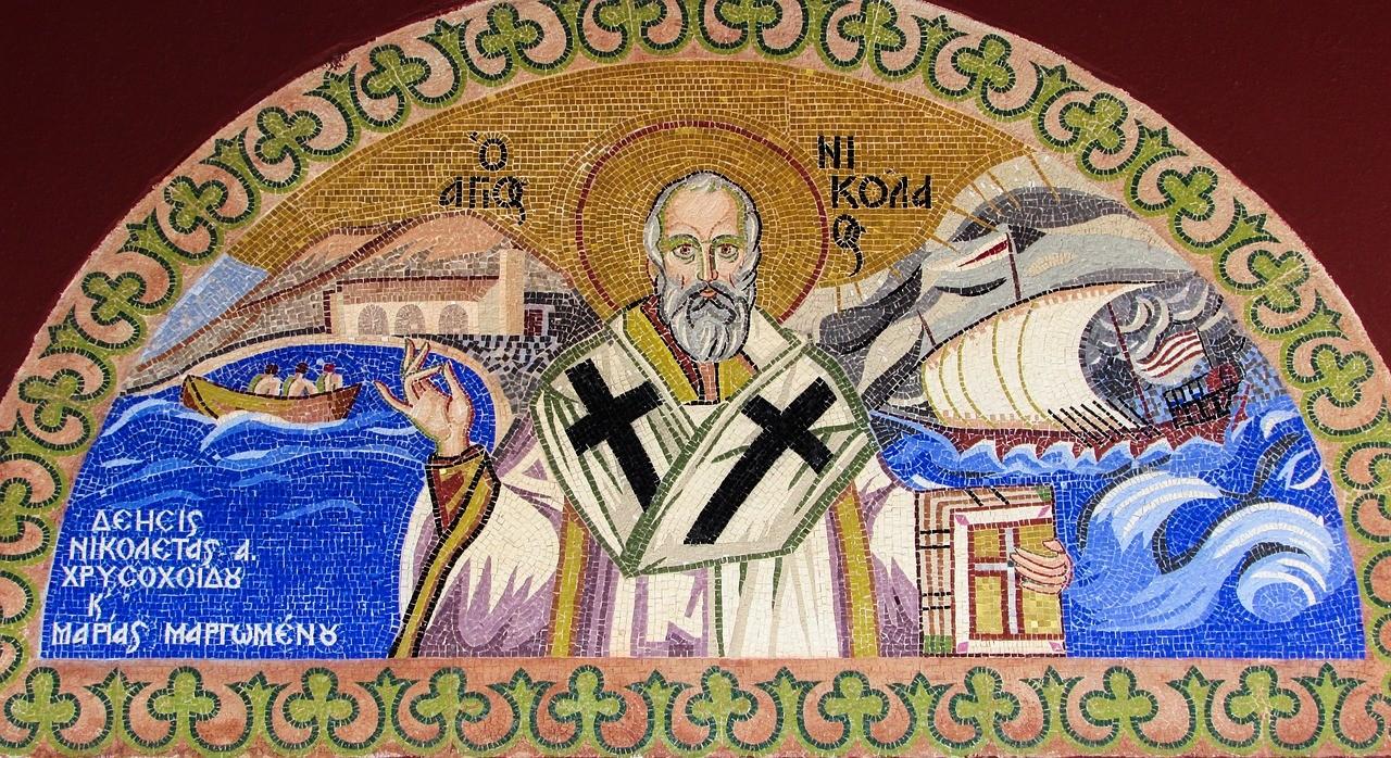 Święty Mikołaj biskup Nikolo w Austrii