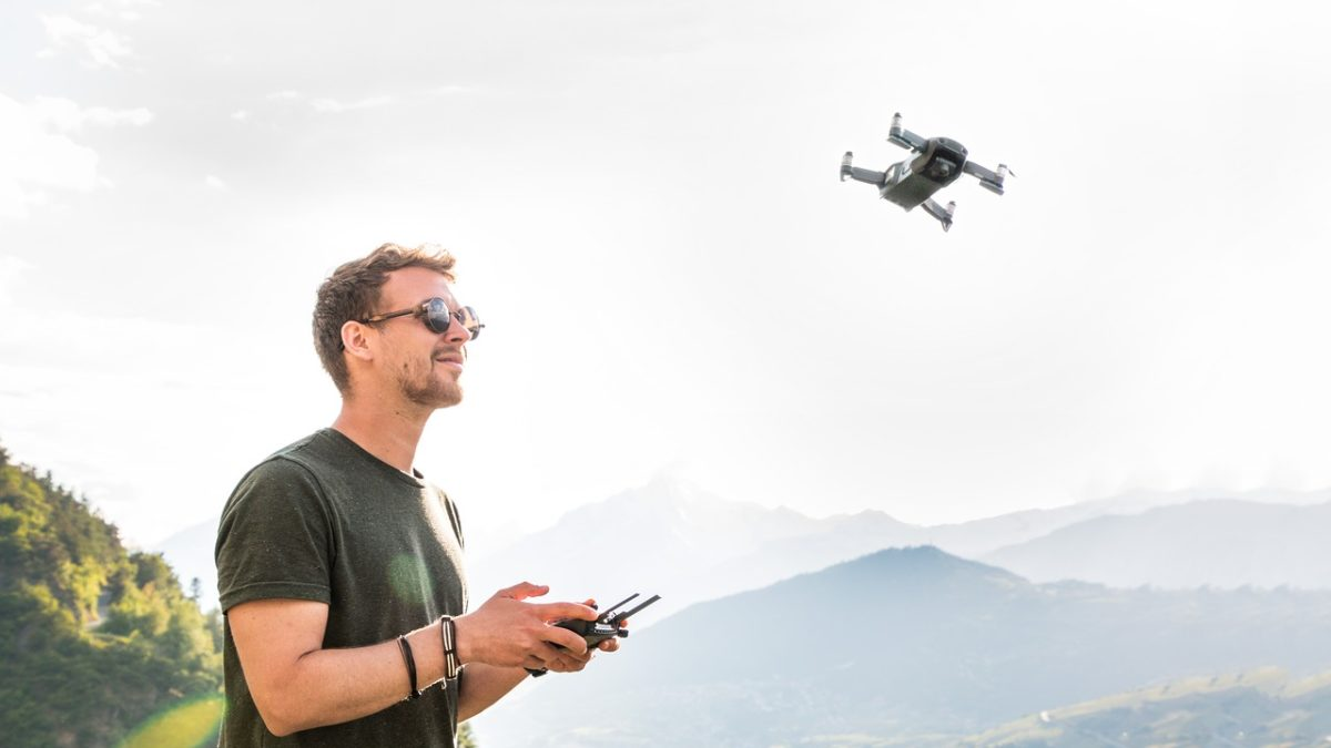 Drony w Austrii
