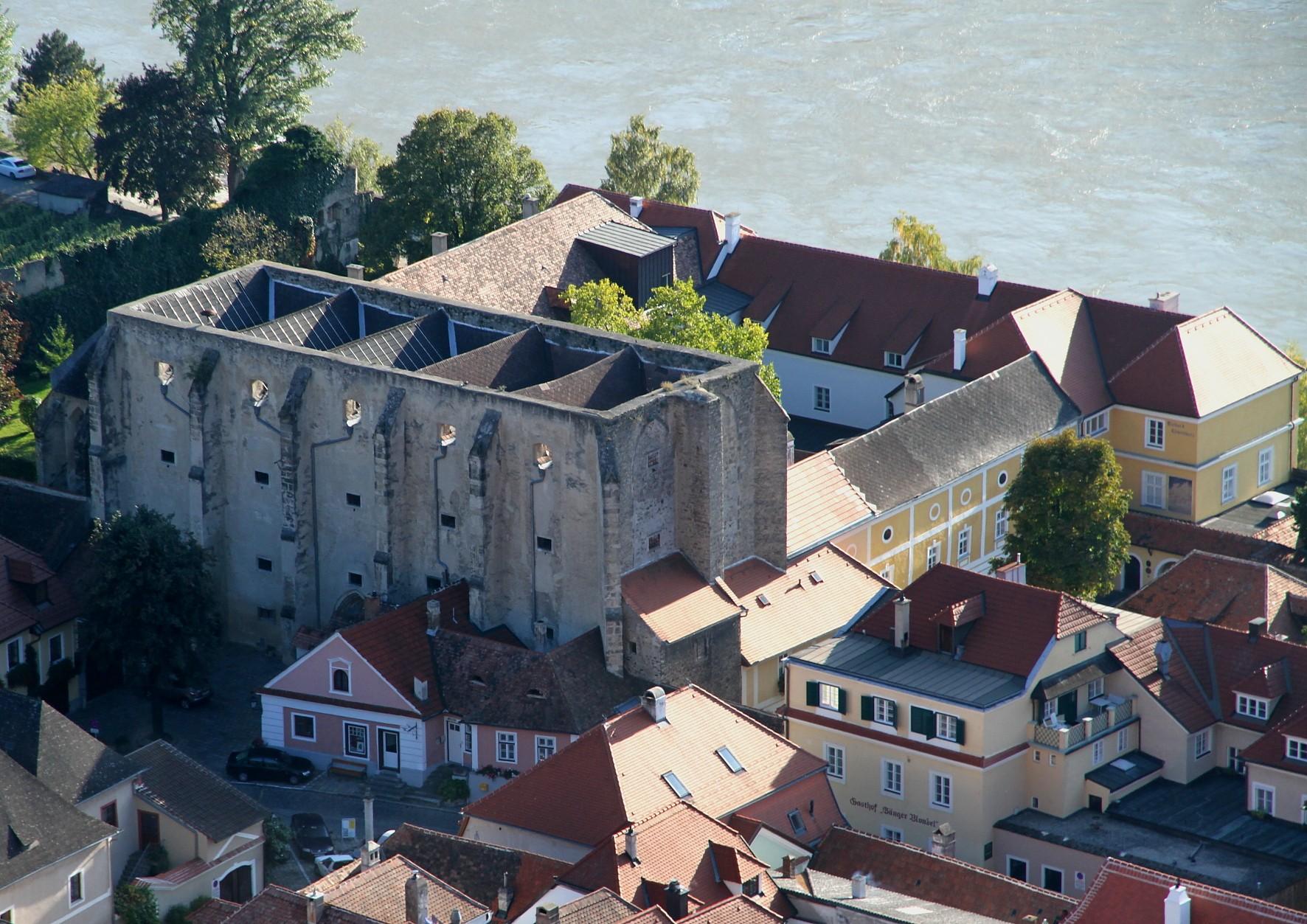 Kościół Klarysek, Duernstein, Niederösterreich, Österreich